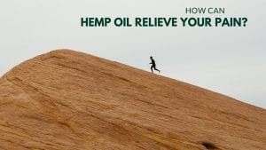 HOW CAN HEMP OIL RELIEVE YOUR PAIN?
