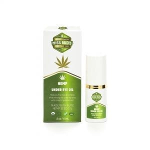 Miss Bud's Hemp Under Eye Oil