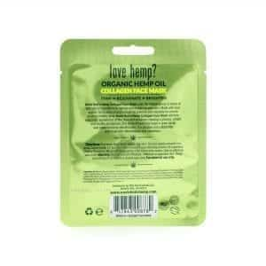 Uncle Bud's Hemp Collagen Face Mask back