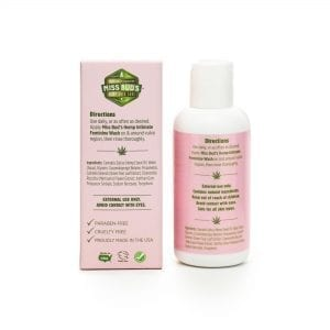 Miss Bud's Hemp Feminine Wash back