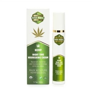 Miss Bud's Hemp Night Time Nourishing Cream