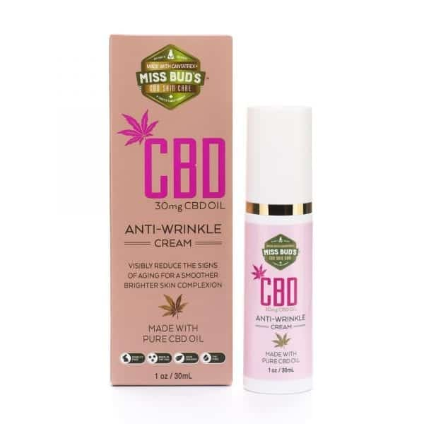Miss Bud's 30mg CBD Anti-Wrinkle Cream