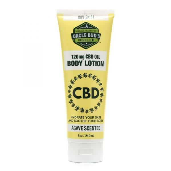 Uncle Bud's 120mg CBD Body Lotion