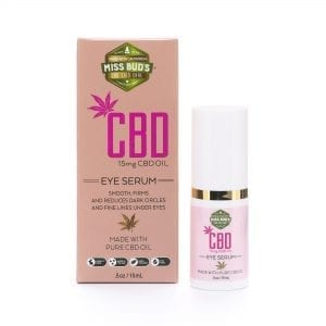 Miss Bud's 15mg CBD Eye Serum