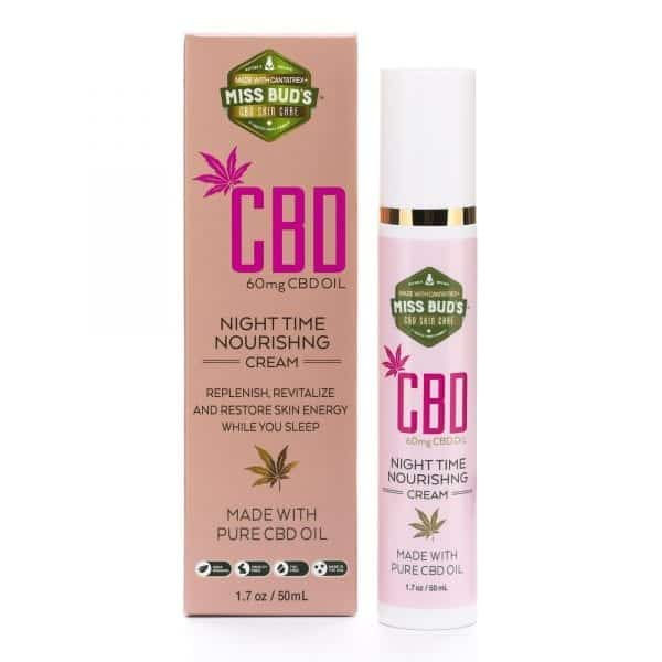 Miss Bud's CBD Night Time Nourishing Cream image 01