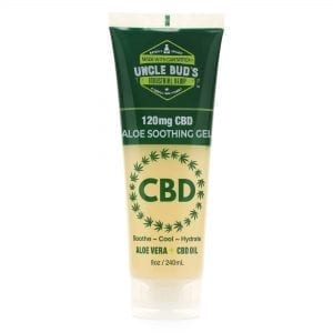Uncle Bud's 120mg CBD Aloe Soothing Gel