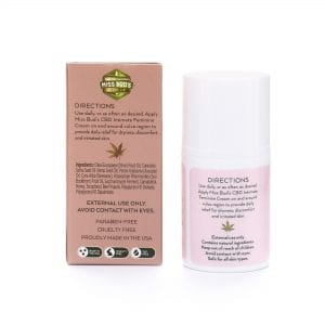 Miss Bud's CBD Intimate Feminine Cream Back
