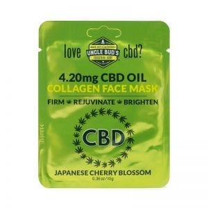 Uncle Bud's CBD collagen Face Mask