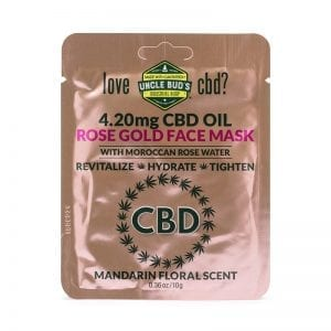 CBD Rose Gold Face Mask image 01