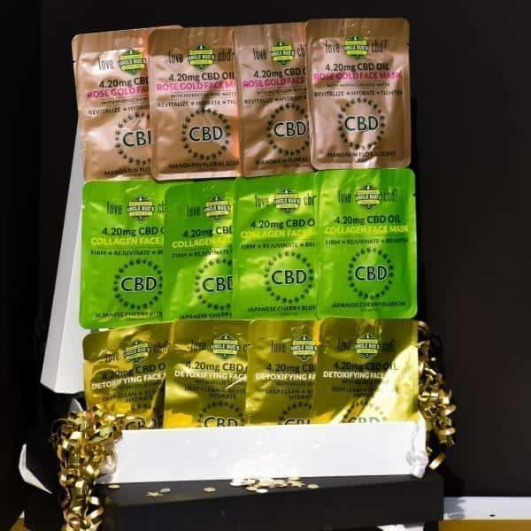 Uncle Bud's CBD Face Mask Gift Pack