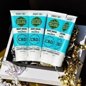 Uncle Bud's CBD Body Wash Gift Pack