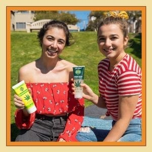 Uncle Bud's Hemp Summer Skincare Guide Sunscreen and Sunburn Soother Girls