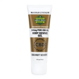 Uncle Bud's CBD Topical Body Rub