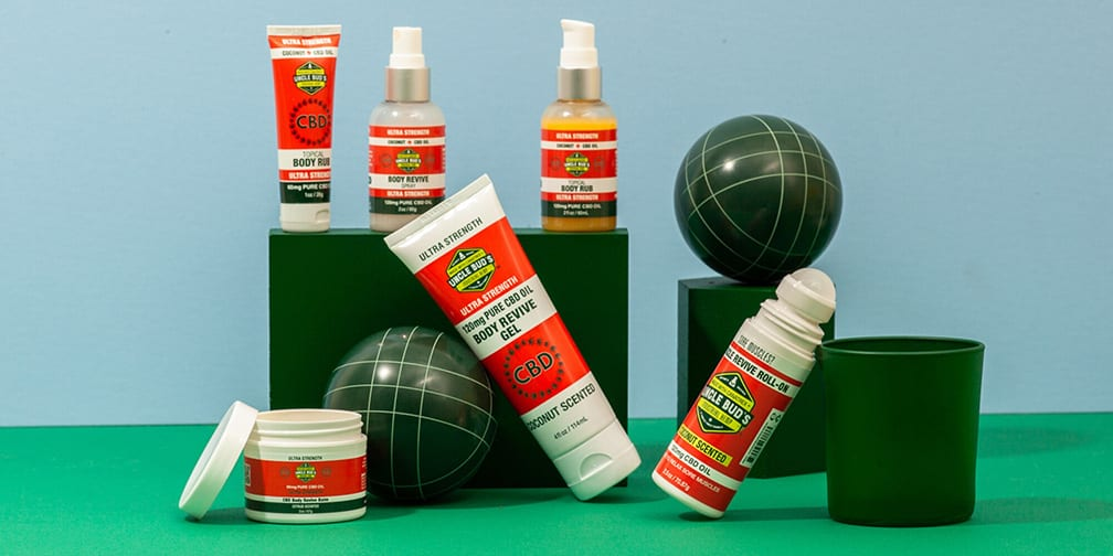Uncle Bud's CBD Topical Pain Relief