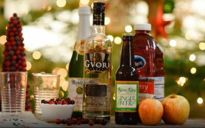 Holiday Cocktail Recipe with River City Ginger Beer