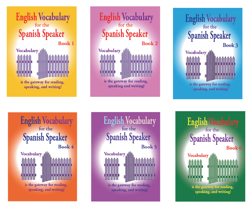 Fisher Hill Publishers, English Vocabulary for Spanish Speakers, English Literacy for Spanish Speaking Teens and Adults