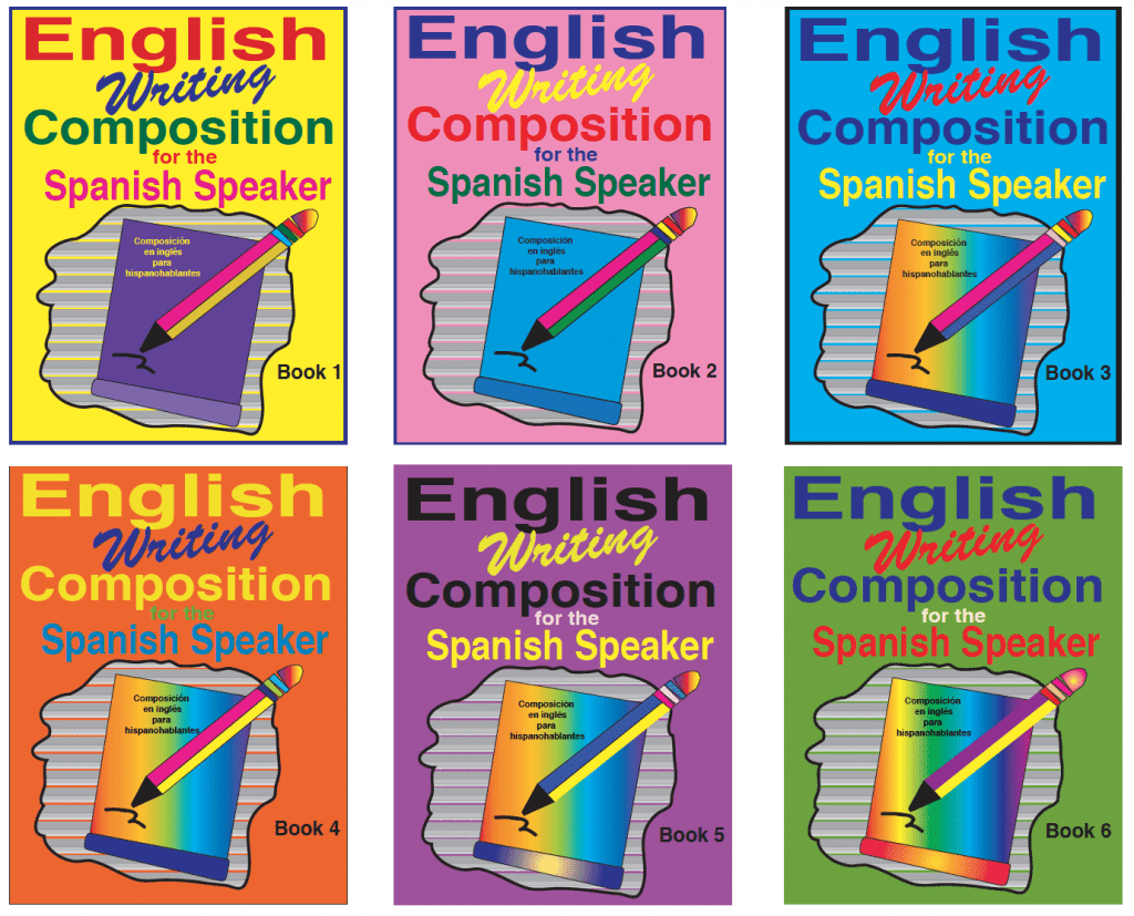 Fisher Hill English writing Composition for Spanish Speaker Workbooks