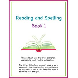 Learning to Read for the Entire Family. Reading and Spelling Book 1