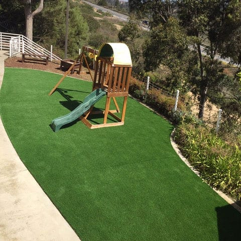 Naval Medical Center San Diego AstroTurf Project On Playground After